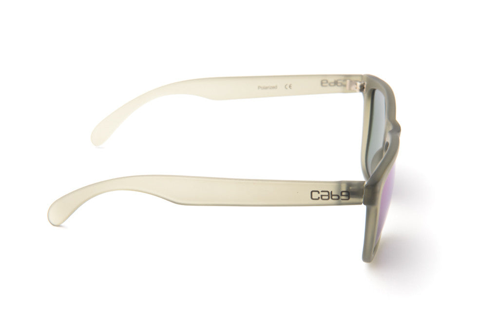 Smoke - Purple Revo - Cab9 Eyewear - 3
