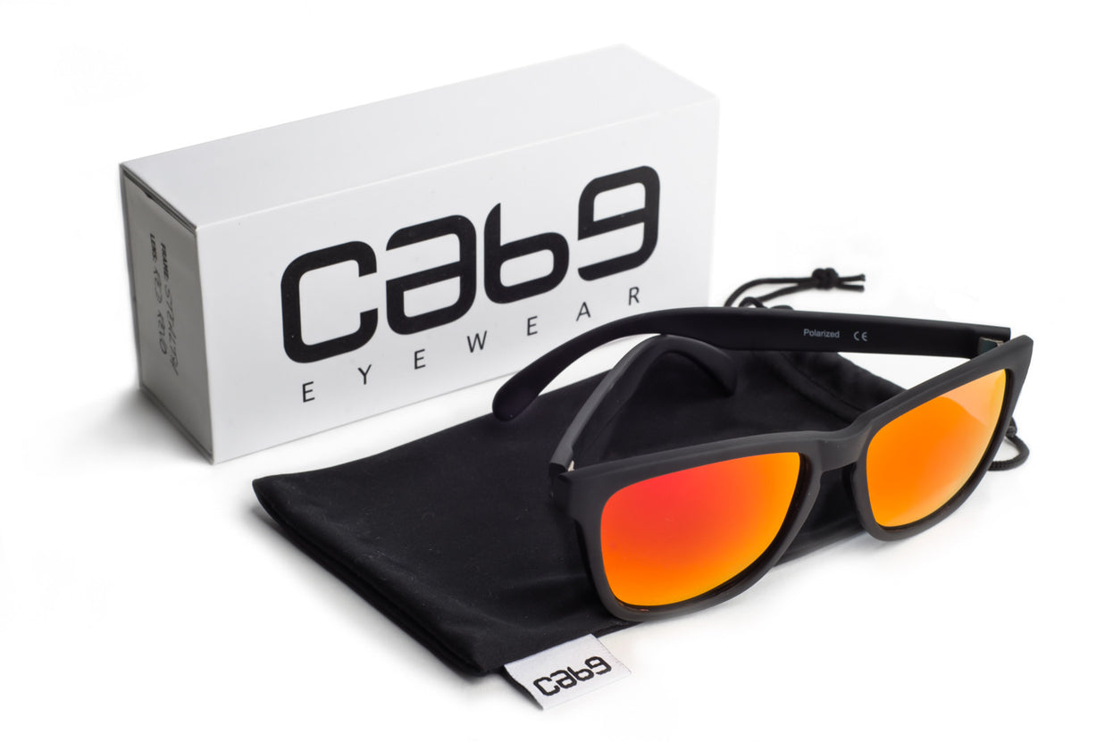 Stealth - Red Revo - Cab9 Eyewear - 5
