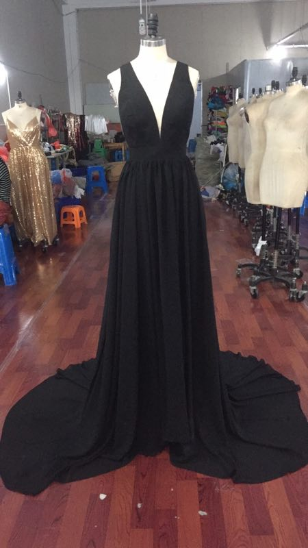 742377a49a2 Finished Black Dresses Pictures from Our Factory – jbydress