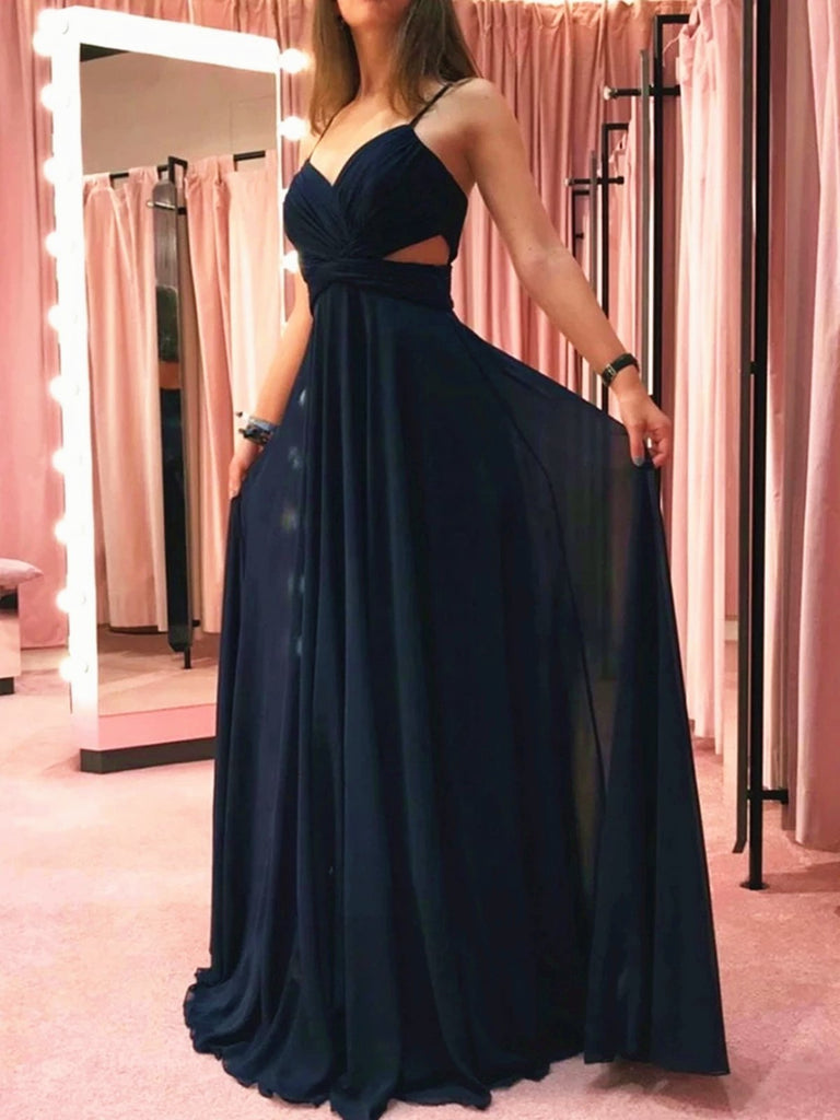 Burgundy Black Floor Length Prom Dresses with Waist Cut, Black Wine Red Long Formal Bridesmaid Dresses