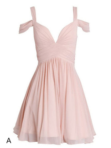 A Line Off Shoulder Short Prom Dresses, Off Shoulder Short Graduation Dresses, Short Homecoming Dresses