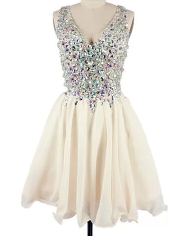 Custom Made A Line Short Prom Dresses, Short Homecoming Dresses, Graduation Dresses