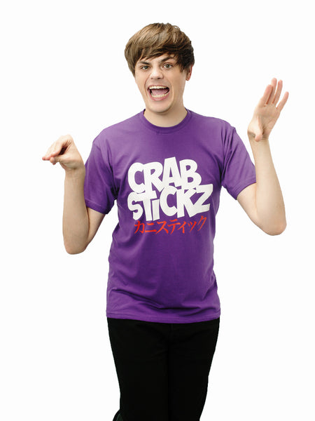 Crabstickz T-Shirt Purple