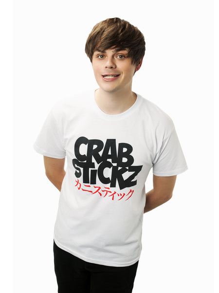 Crabstickz T-Shirt White