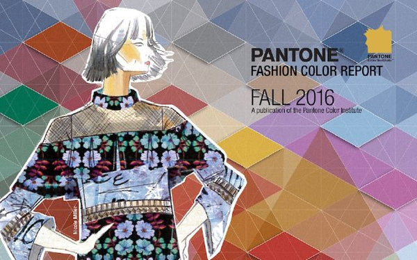 Pantone fall fashion colors 2016
