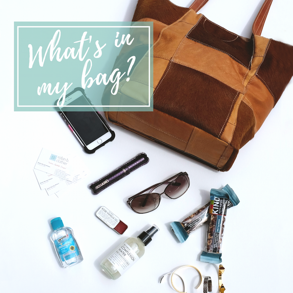 What's in the bag of a boutique owner