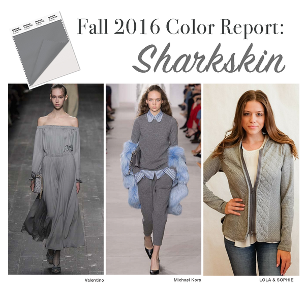 Pantone Fall 2016 Sharkskin