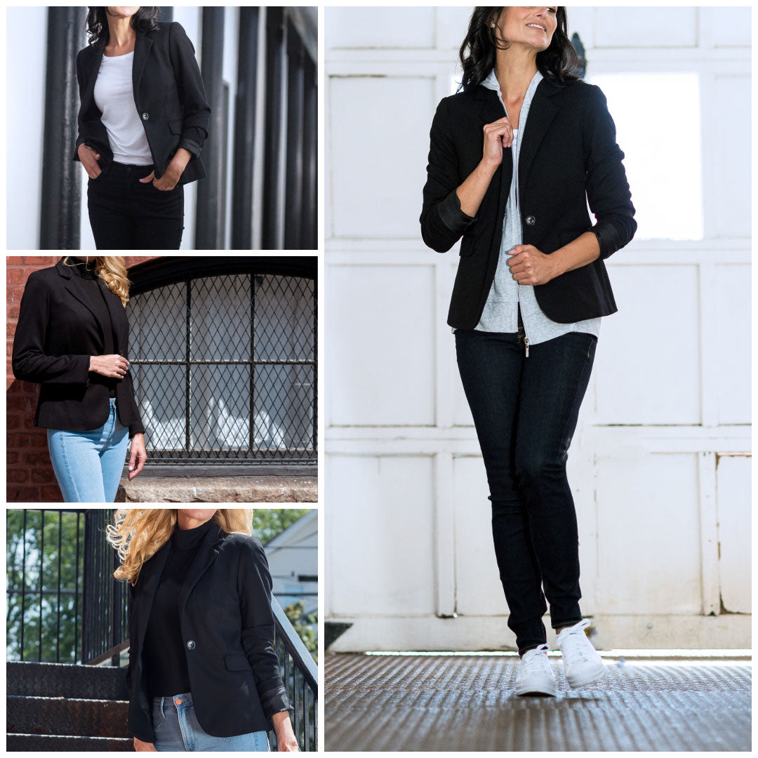 the blazer from rose & thread
