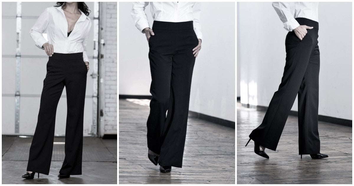 wide leg pant by rose & thread