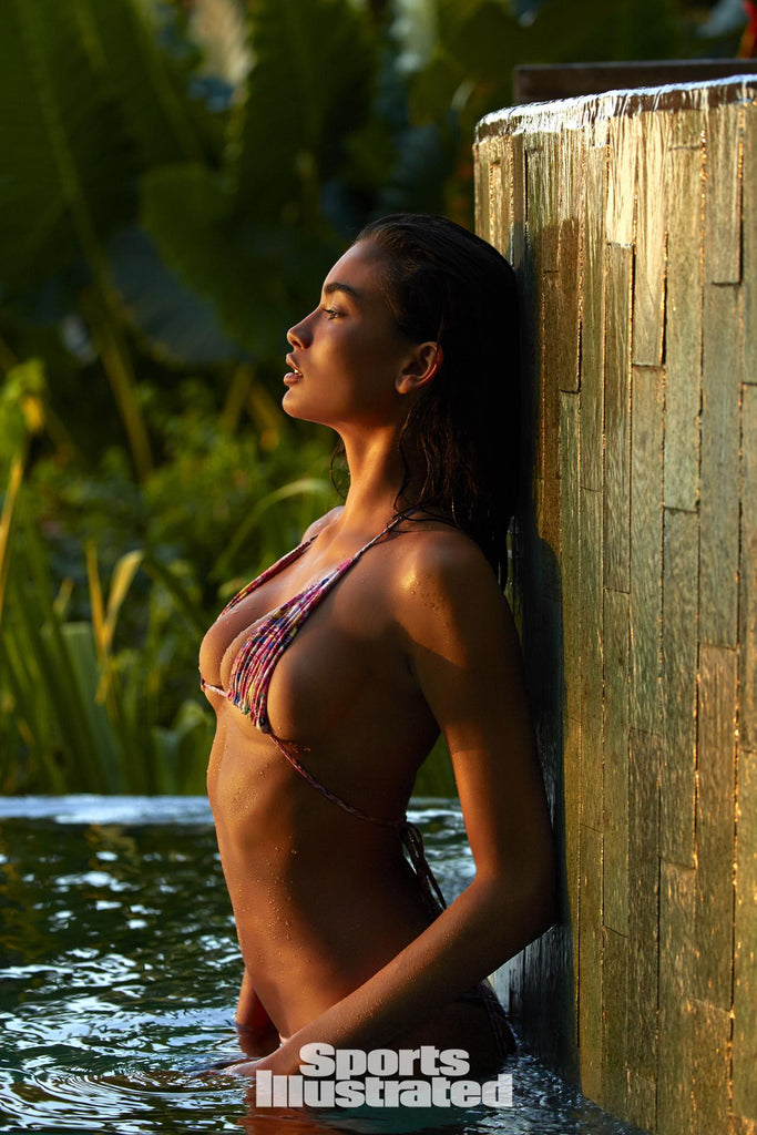 Kelly Gale in Storm swimwear bikini - Sports Illustrated 2017