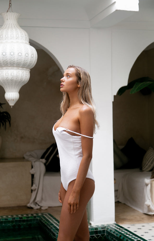 Portofino - One Piece Swimsuit in Storm Le Nuage Blanc