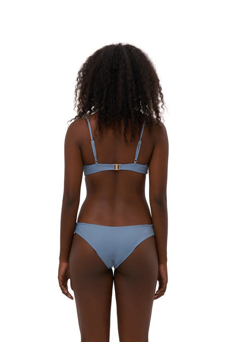 Super Paradise - Super Style High waist brief in Storm Le Nuage Noir