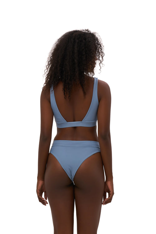 Super Paradise - Super Style High waist brief in Sky Blue