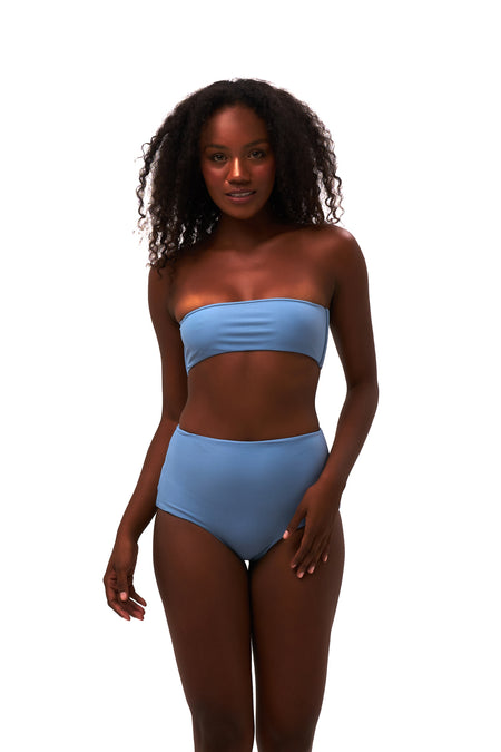 Belize - Bikini Top in Corduroy Sweetheart