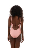 Portofino - One Piece Swimsuit in Coral Cloud