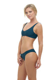 Cottesloe - Bikini Top in Jungle Green