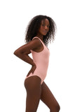 Cinque Terre - One shoulder One Piece in Coral Cloud