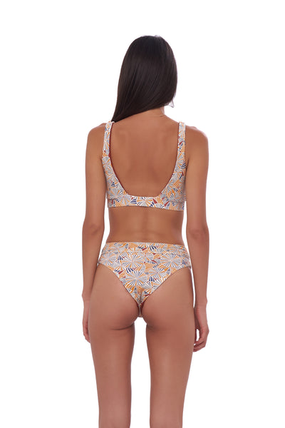 Super Paradise - Super Style High waist brief in Wild Flowers