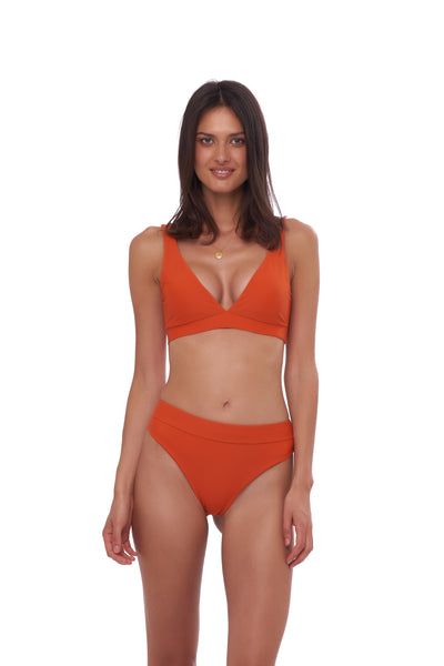 Crete - Coverage top in Sunburnt Orange