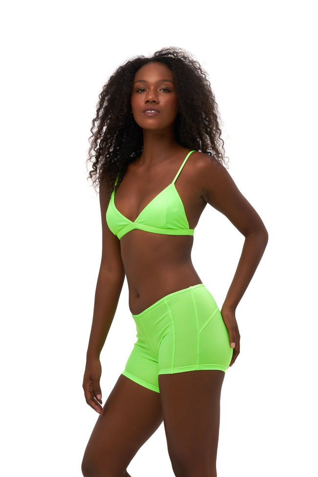 Echo beach - Pant in Neon Green