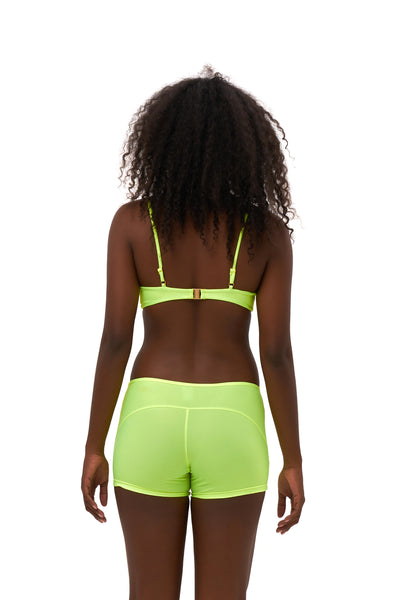 Echo beach - Pant in Neon Yellow