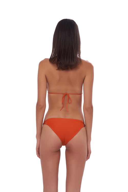 Blue Lagoon - Bikini Bottom in Sunburnt Orange