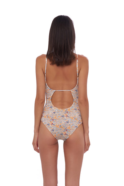 Portofino - One Piece Swimsuit in Wild Flower Print