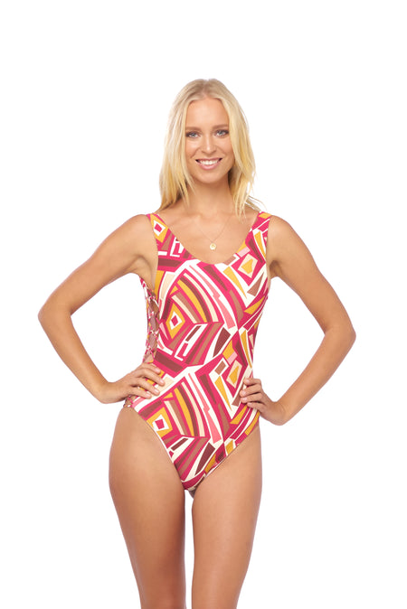 Cayman - One Piece in Raven Corduroy