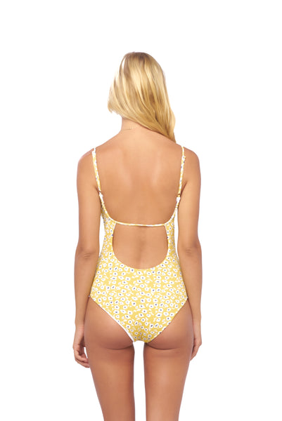 Portofino - One Piece Swimsuit in Sunflower