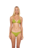 Blue Lagoon - Bikini Bottom in Golden Olive