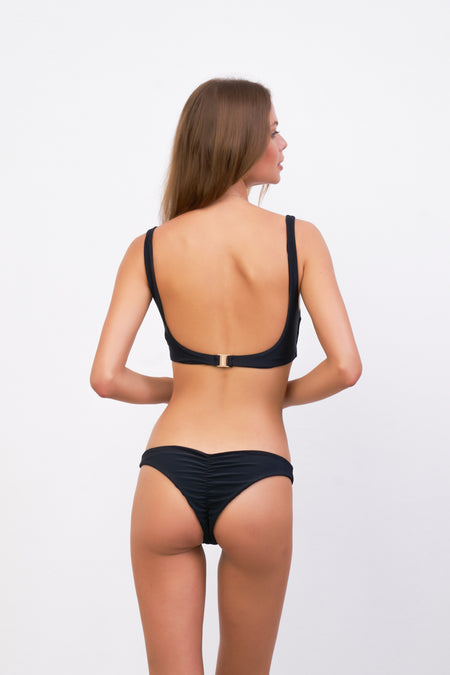 Super Paradise - Super Style High waist brief in Plain Bamboo