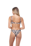 Cottesloe - Split Brief in Leopard Print