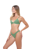 Mallorca - Triangle Bikini Top with removable padding in Storm Le Nuage Mer