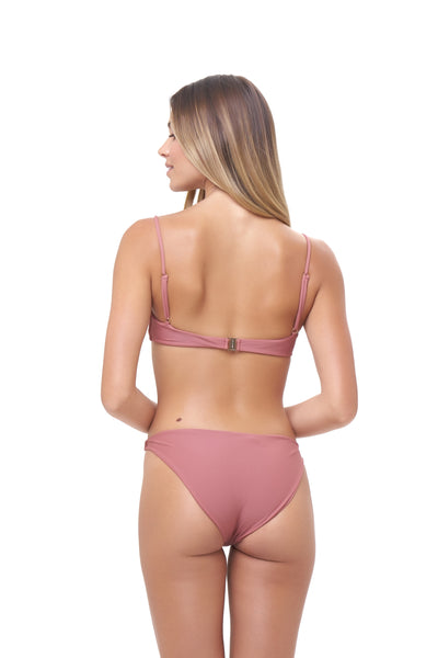Lanzarote - bikini top in Canyon Rose
