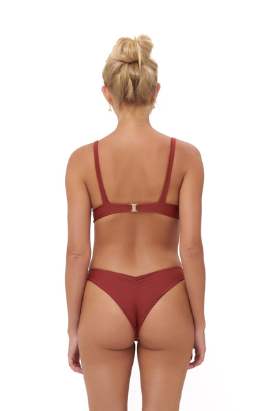 Alicudi - Bikini Top in Desert Sand