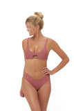 Playa Del Amor brief - Bikini Bottom in Canyon Rose