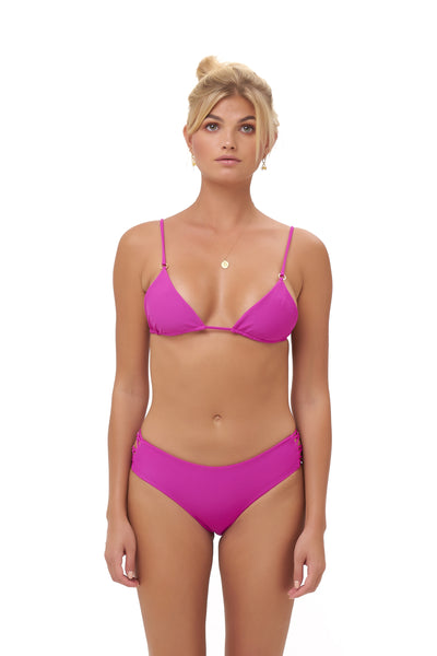 Playa Del Amor brief - Bikini Bottom in Fuchsia