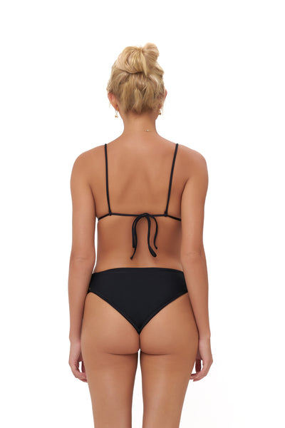 Playa Del Amor brief - Bikini Bottom in Black