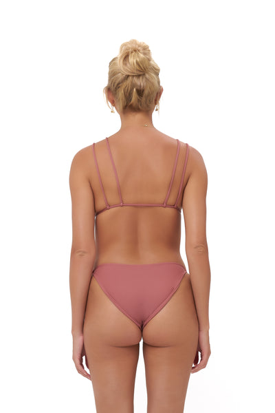 Cap Ferrat - Bikini Bottom in Canyon Rose