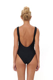 Playa Del Amor - One Piece Swimsuit in Black
