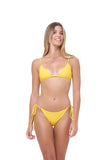 Formentera - Tie Side Bikini Bottom in Citrus