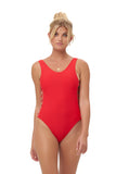 Playa Del Amor - One Piece Swimsuit in Scarlet