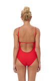 Portofino - One Piece Swimsuit in Scarlet