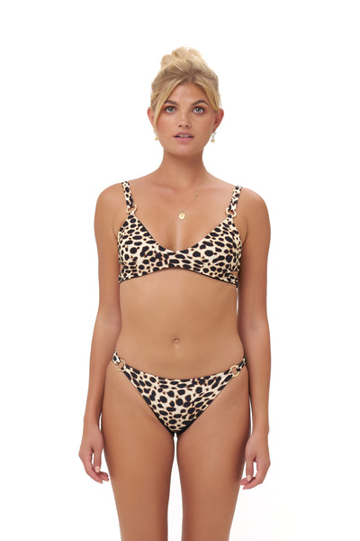 Lanzarote - bikini Bottom in Cheetah Print