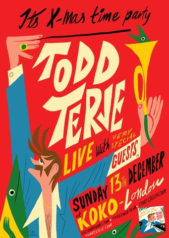 Todd Terje - Its X-mas time party