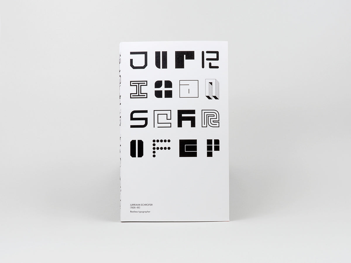Jurriaan Schrofer - Restless Typographer