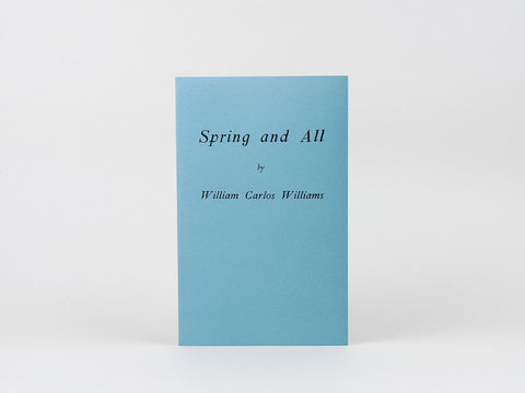 William Carlos Williams - Spring and All