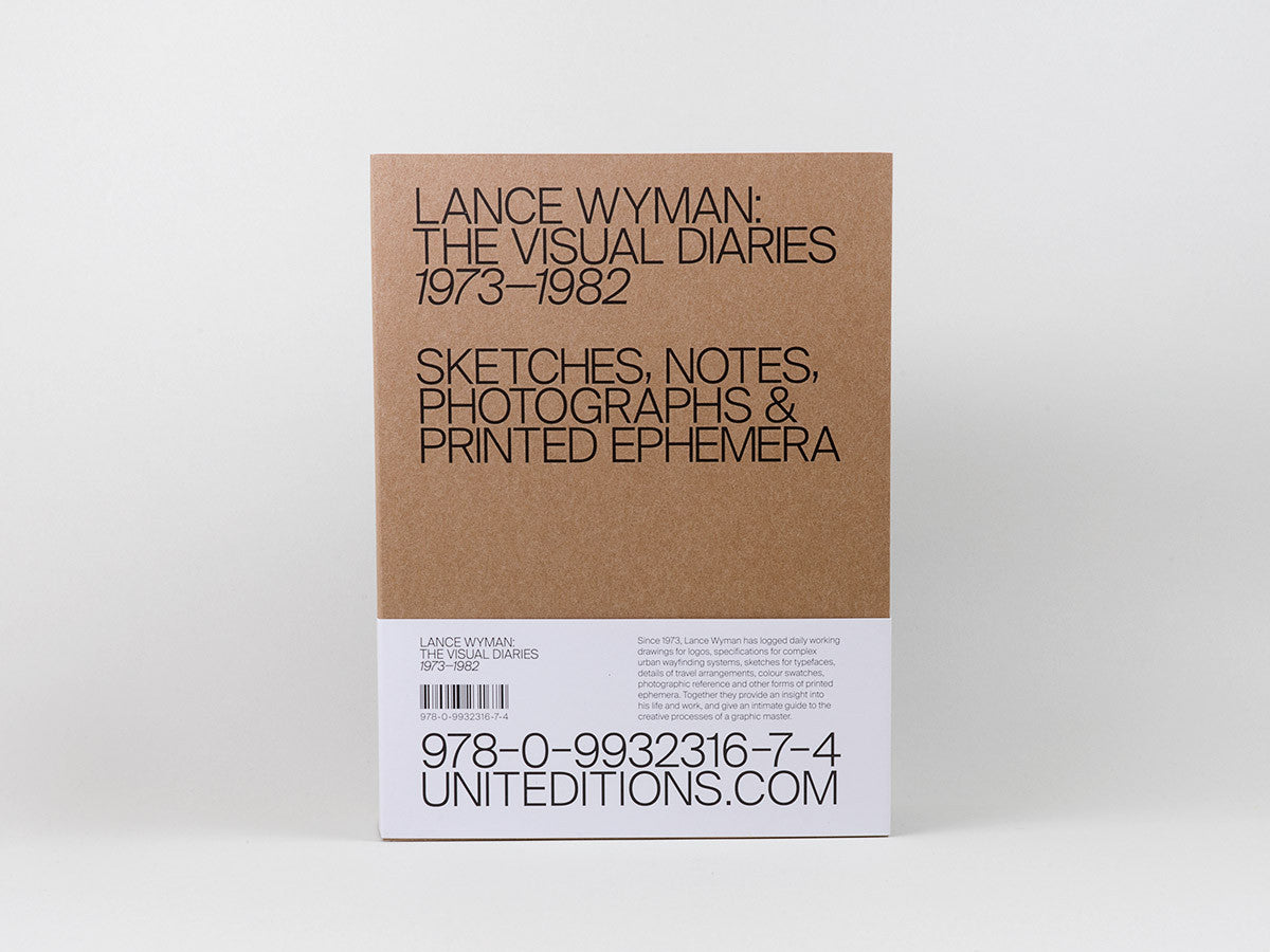 Lance Wyman: The Visual Diaries 1973–1982 - ahorn books