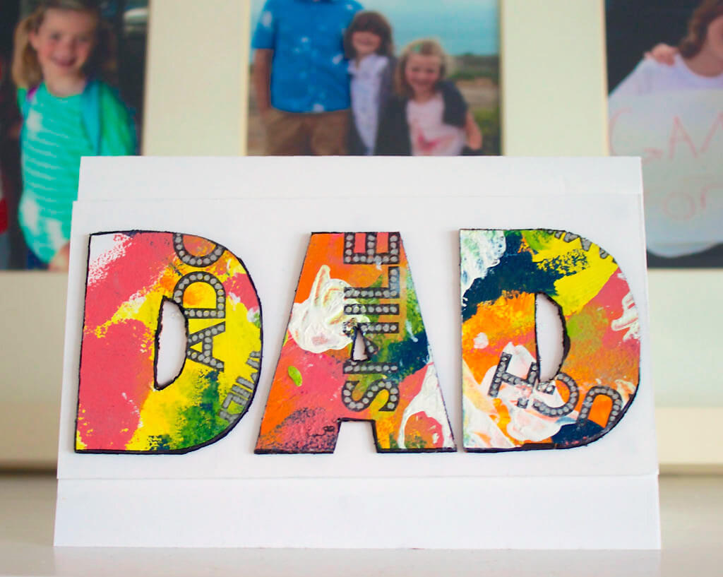 DIY FATHERS DAY CARDS