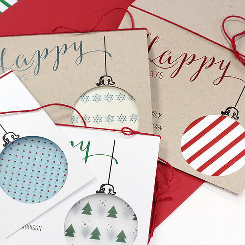 Cut Out Christmas Cards